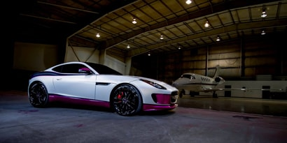 3M™ Wrap Film Series 1080–SP10 Satin Pearl White, SF12 Straight Fiber Black, & G348 Gloss Fierce Fuchsia
