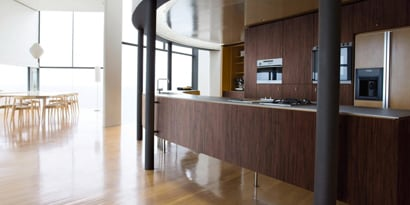 DI-NOC finish on residential kitchen