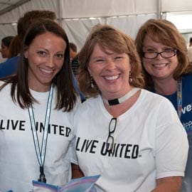 Live United Volunteers
