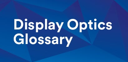 Display Optics Library text on an blue background.