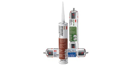 3M Adhesive Sealants for Bonding and Assembly